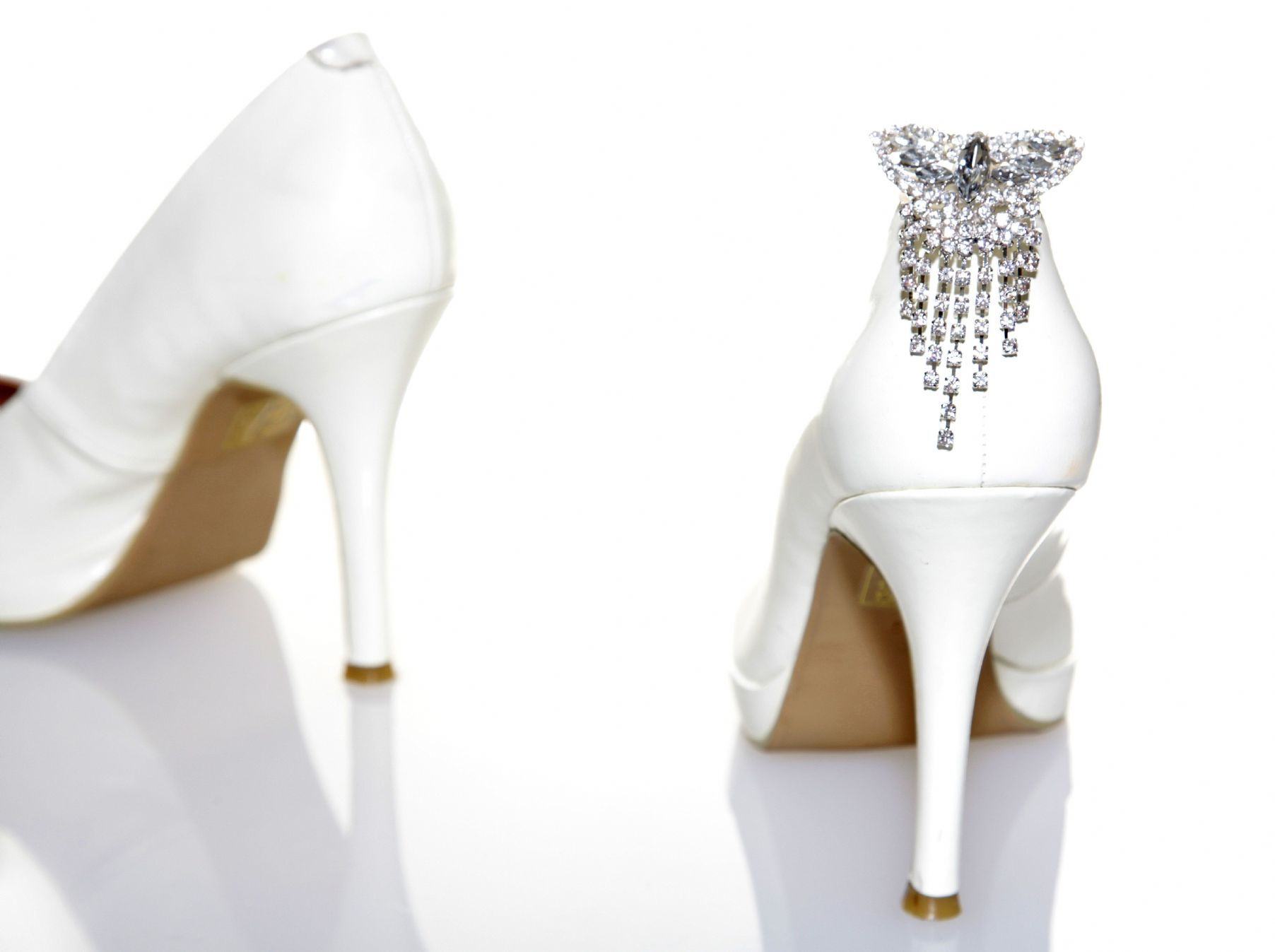 Blingbacks Shoe Jewellery - Butterfly Chandelier