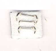 Ring guard adjuster resizer small white gold filled