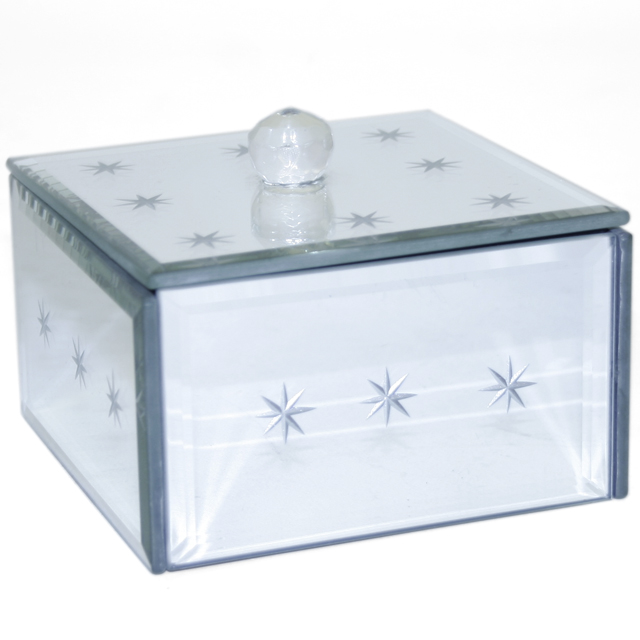 Star Mirrored Jewellery Box